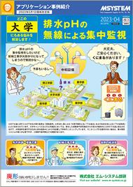 排水pHの無線による集中監視